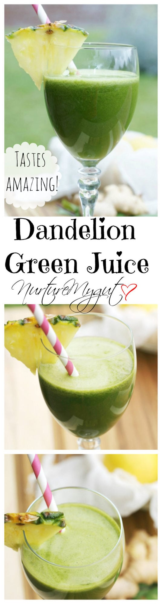 dandelion green juice