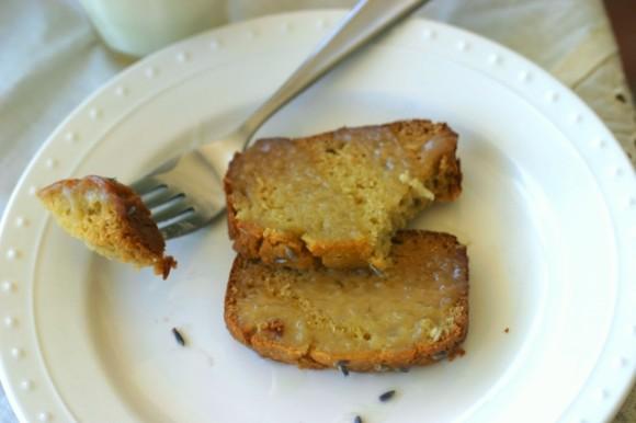gluten free lavendar pound cake 3