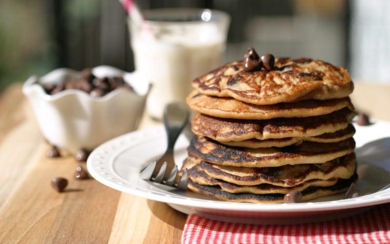 Gluten Free Chocolate Chip Pancakes (Grain-Free)