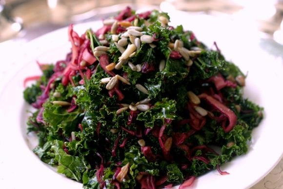 kale and cabbage salad 3