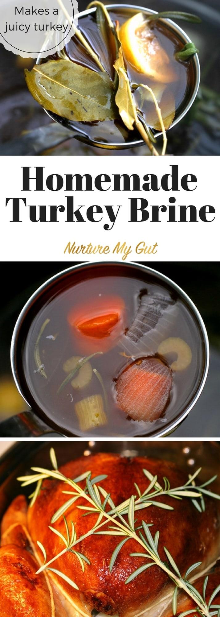 easy homemade turkey brine