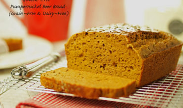 Gluten Free Pumpernickel Beer Bread
