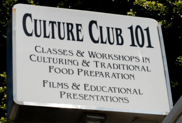 culture club 101 sign