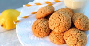 gluten free lemon cookies