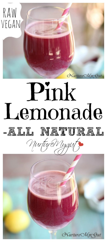 all natural pink lemonade