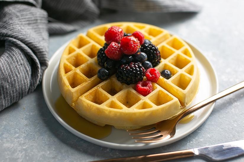 Best Gluten Free Waffles Paleo Friendly Nurture My Gut
