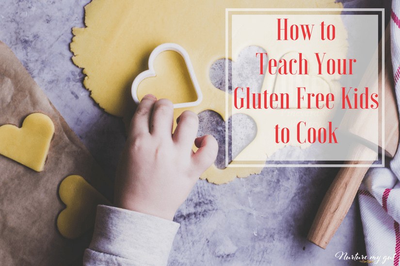 How to Teach Your Gluten Free Kids to Cook