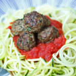 easy garlic cilantro meatballs