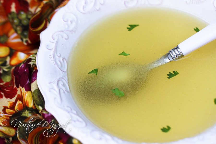 Crock Pot Chicken Bone Broth