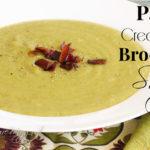 Paleo Cream of Broccoli Soup