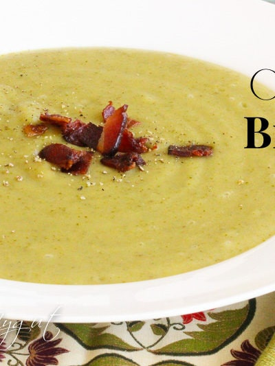 Paleo Cream of Broccoli Soup