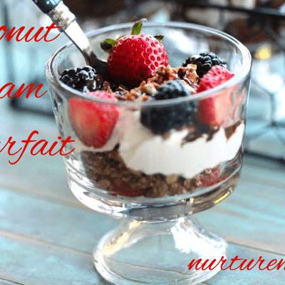 Coconut Cream Parfait