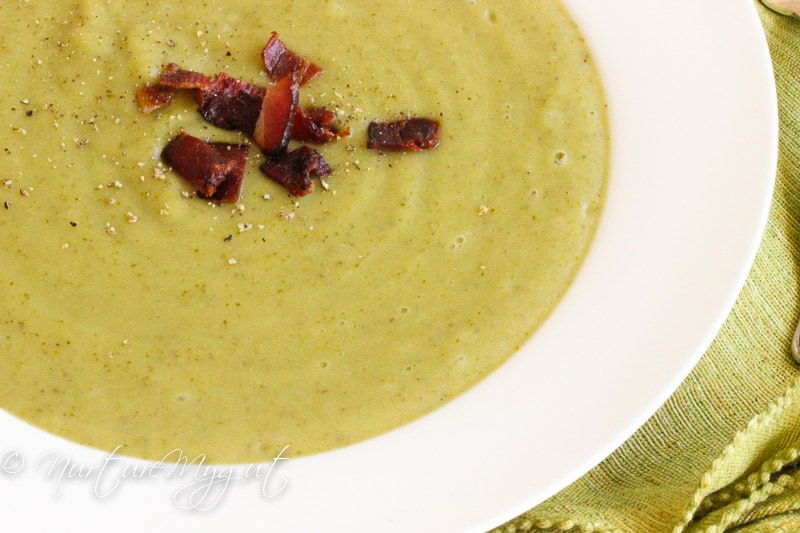 cream of broccoli soup 1