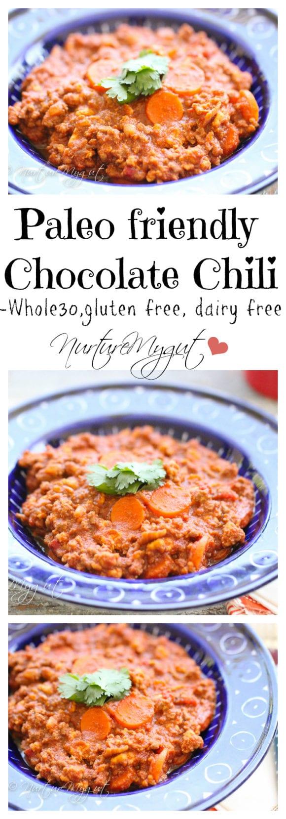 paleo friendly chocolate chili