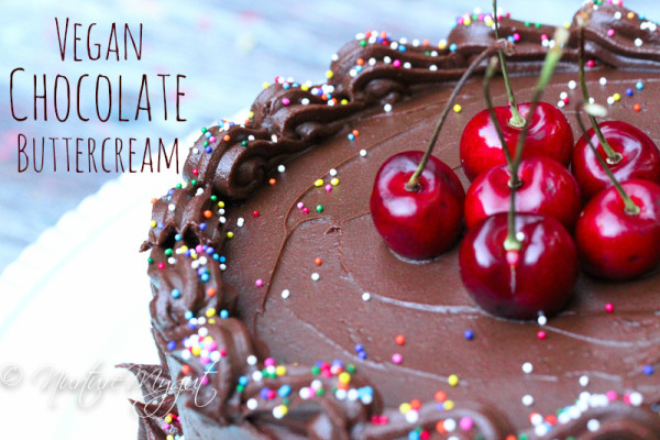 Vegan Chocolate Buttercream Frosting