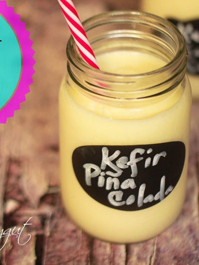 Coconut Kefir Piña Colada Smoothie