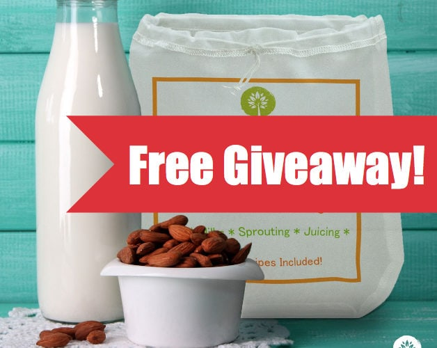 GIVEAWAY! Ellie's Best Bigger Better Nut Milk Bag $24.95 Value