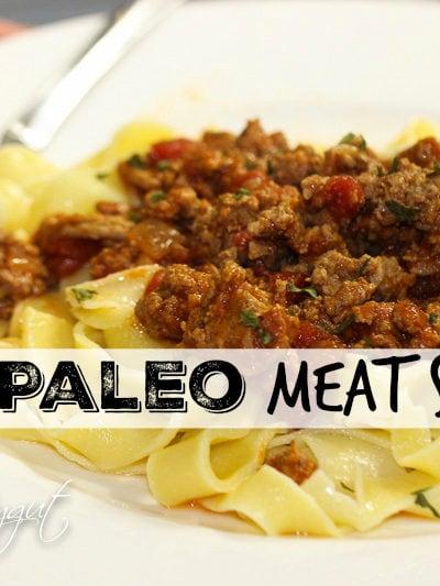 Best Paleo Meat Sauce!