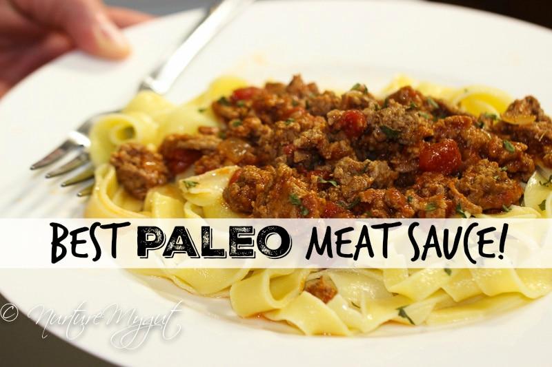Best Paleo Meat Sauce