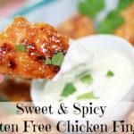 Sweet and Spicy Gluten Free Chicken Fingers Recipe