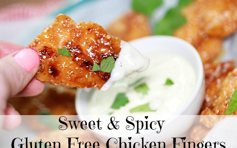 Sweet and Spicy Gluten Free Chicken Fingers Recipe