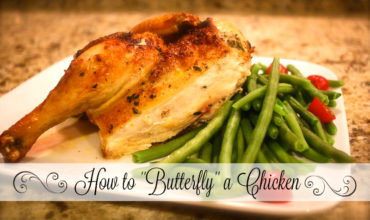 How To Butterfly a Chicken-(Guest Post)