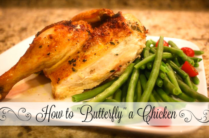 how to butterfly a chicken
