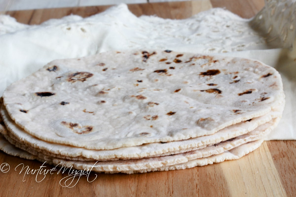 Paleo Tortillas Nut Free Version