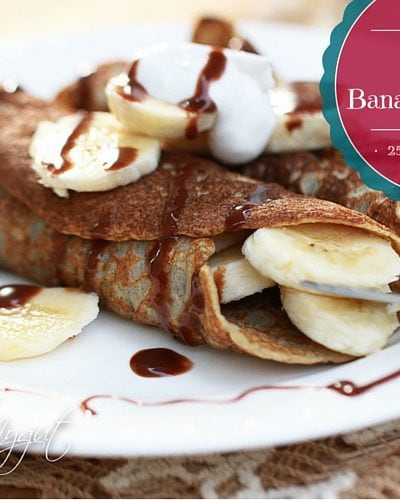 Easy Paleo Banana Pancakes (Gluten Free/Dairy Free/Nut Free)