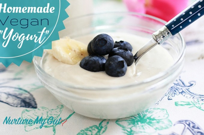 Homemade Vegan Yogurt