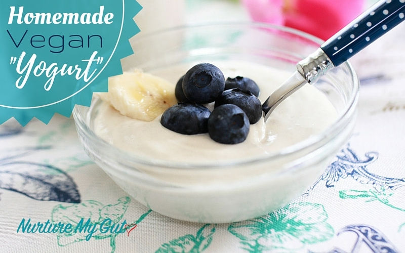 Homemade Vegan Yogurt-No Yogurt Maker Required