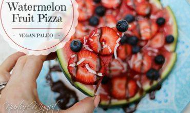 Berry Watermelon Pizza Recipe