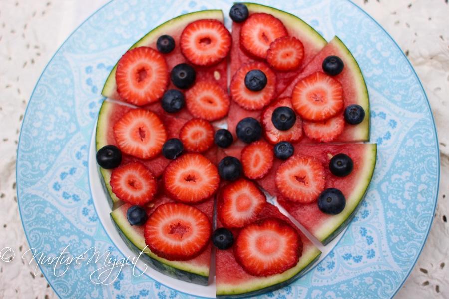 Berry Watermelon Pizza-5
