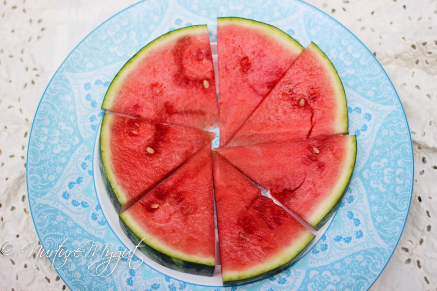 Berry Watermelon Pizza