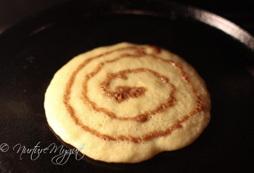 Paleo Cinnamon Swirl Pancakes