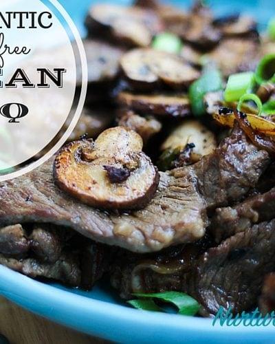 Authentic Gluten Free Korean BBQ Recipe