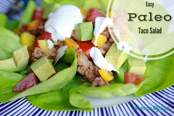 Easy Paleo Taco Salad