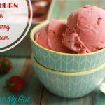 No-Churn Vegan Strawberry Ice Cream