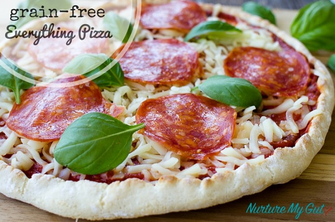 Grain Free Everything Pizza Dough Recipe