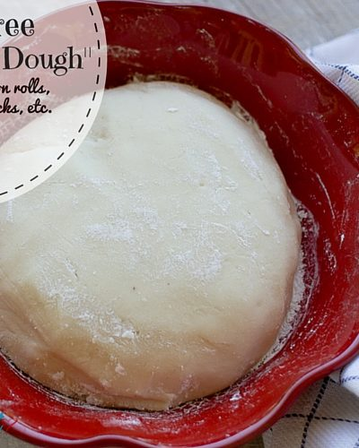 Grain Free Everything Dough {Dairy Free}
