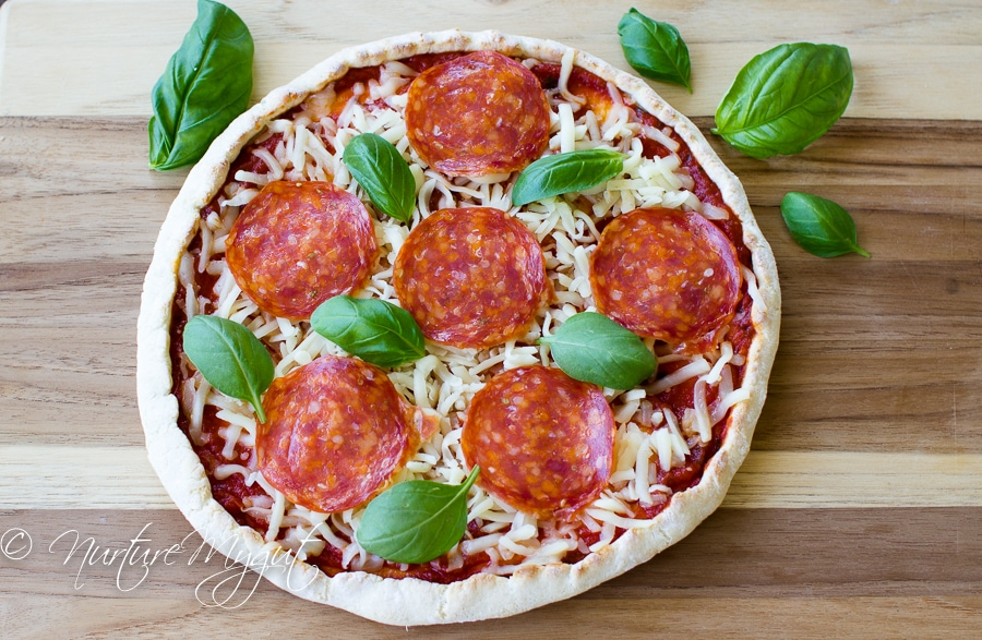 grain free everything pizza crust