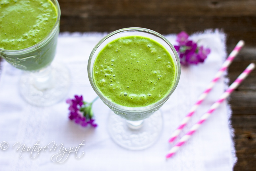 Restorative Banana Ginger Green Smoothie