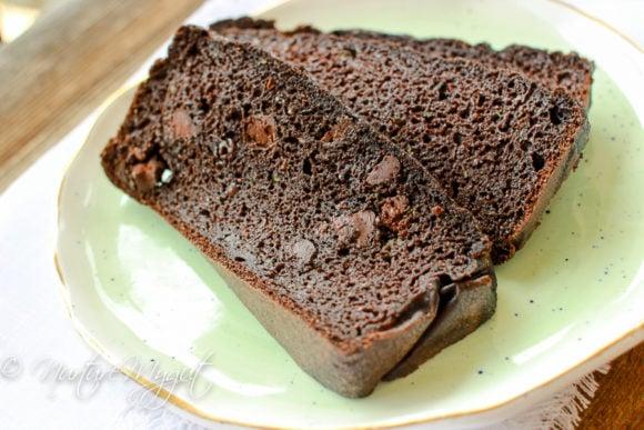 Grain Free Death By Chocolate Zucchini Bread