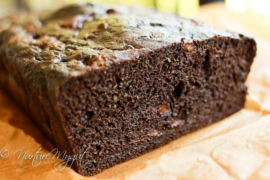 Chocolate Zucchini Bread Using Cake Mix