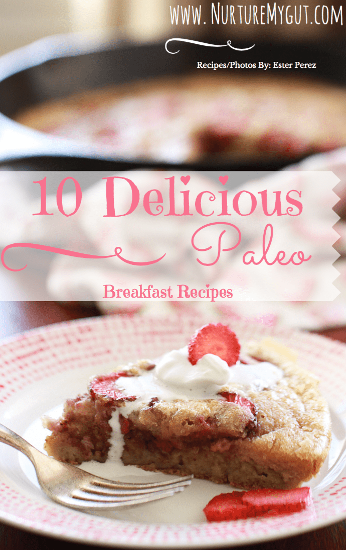 10 Delicious Paleo Breakfasts E-Book