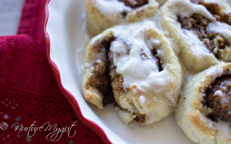 Grain Free Everything Cinnamon Rolls