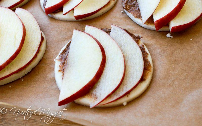 Paleo Apple Pizza Pie Bites
