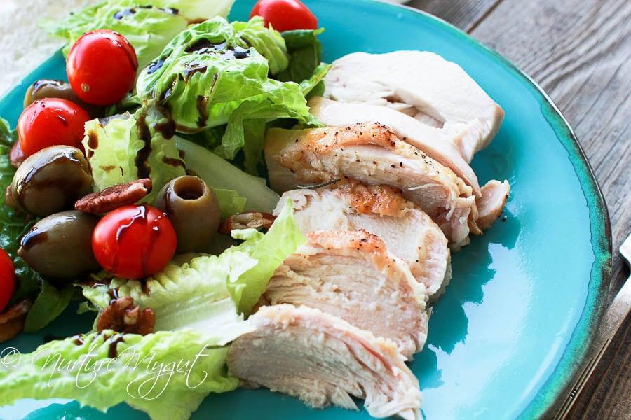 easy roasted rosemary chicken breast