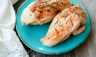 Easy Roasted Rosemary Chicken Breast for Meal Planning Monday #1