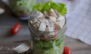 Paleo Greek Mason Jar Salad {Dairy Free}